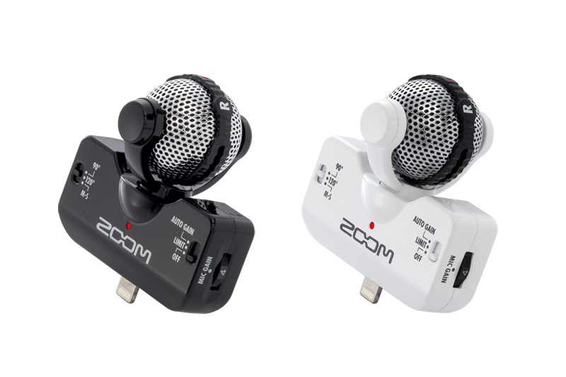 Zoom iQ5 Professional Stereo Mic for iOS