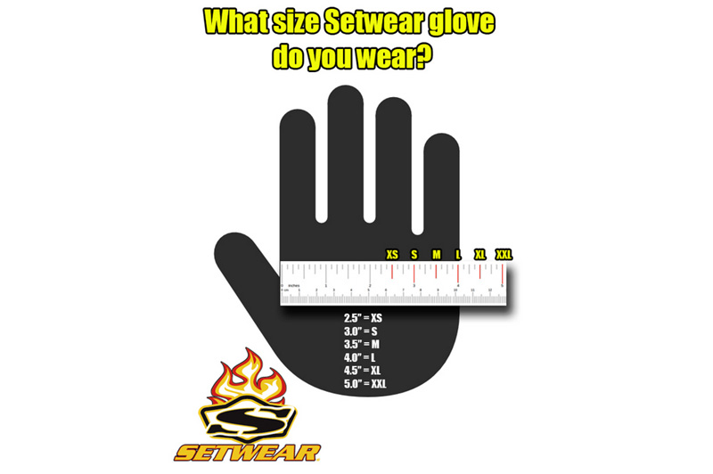 SetWear EZ-FIT Gloves