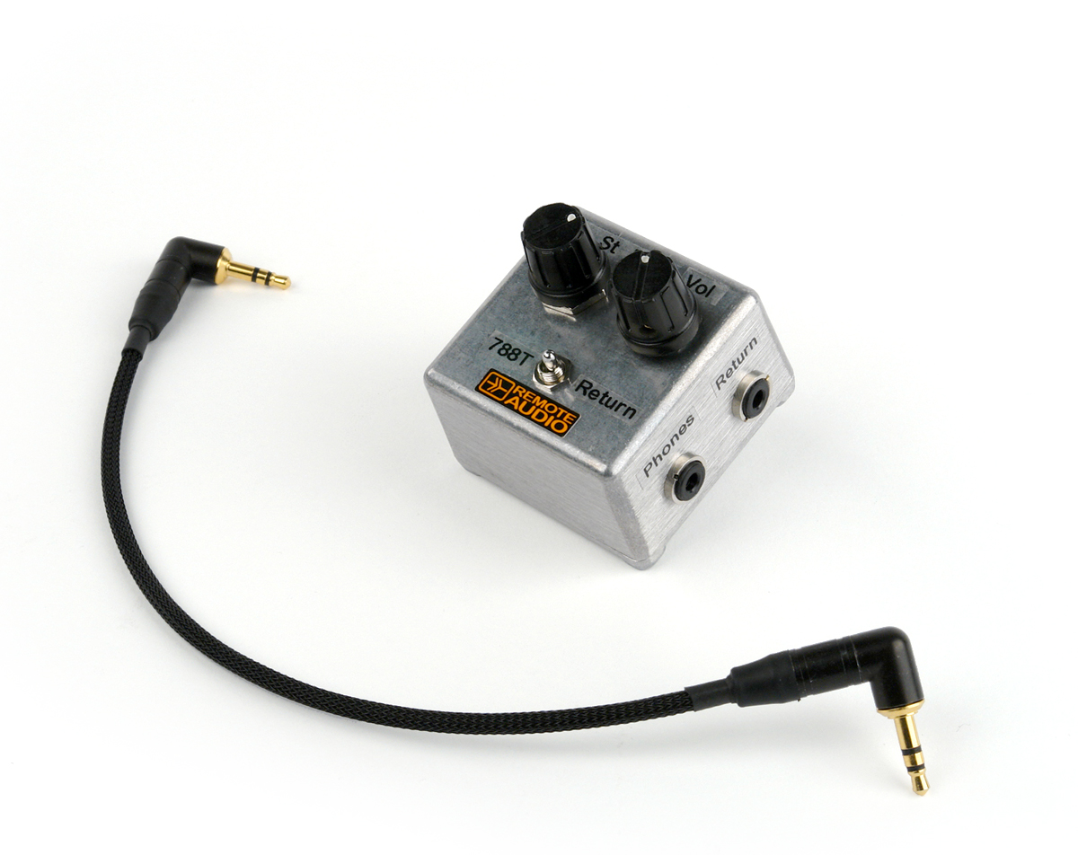 Remote Audio Return Box for 744T and 788T (788RTNB)