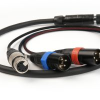 Remote Audio Breakaway Cable 10-pin Hirose M Mixer End with HD Camera End (CABETACCS104/5P)