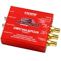 Decimator 2 SDI to Composite and HDMI Down Converter (3G/HD/SD)