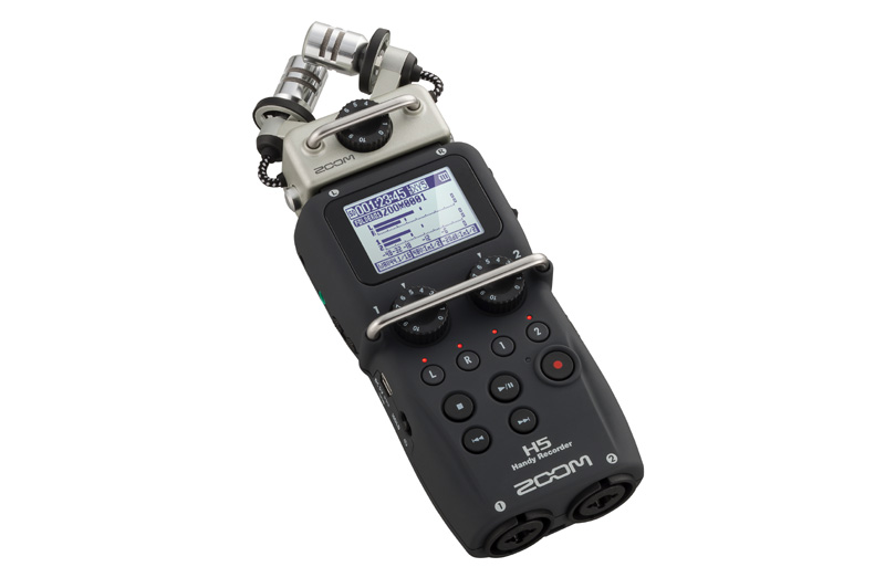 Zoom H5 Portable Digital Recorder