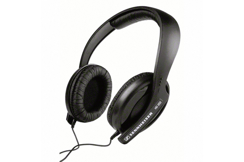 Sennheiser HD202-II Over Ear Headphones