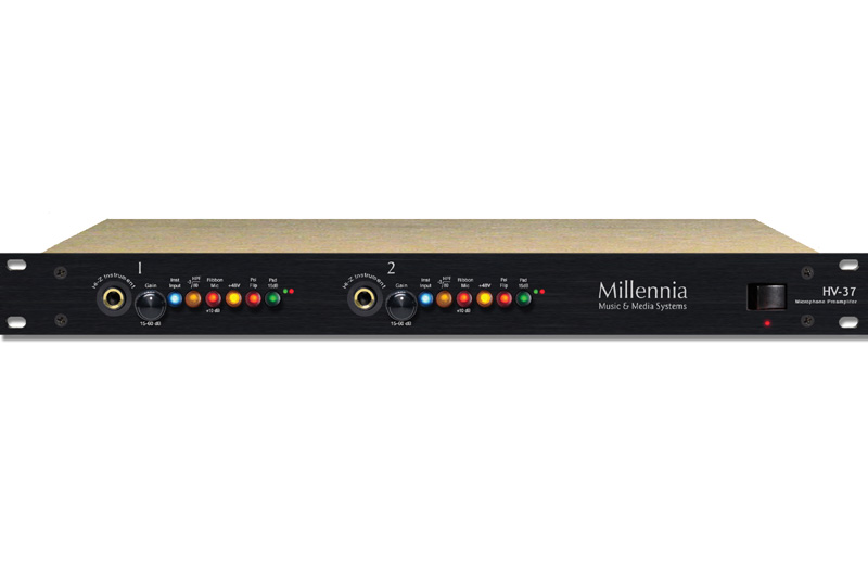 Millennia HV-37 Two Channel Microphone Preamplifier