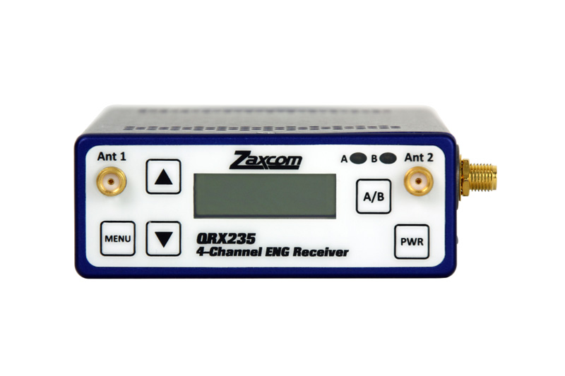Zaxcom QRX235 Audio & Timecode Receiver