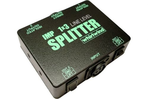 Whirlwind SP1x3LL Line-Level Splitter