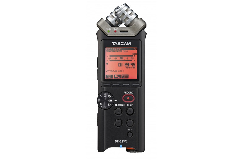 Tascam DR-22WL Portable Handheld Recorder with Wi-Fi
