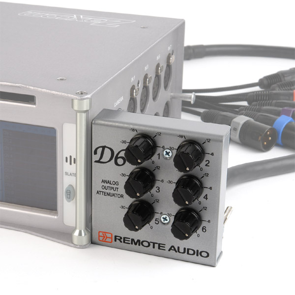 Remote Audio D6