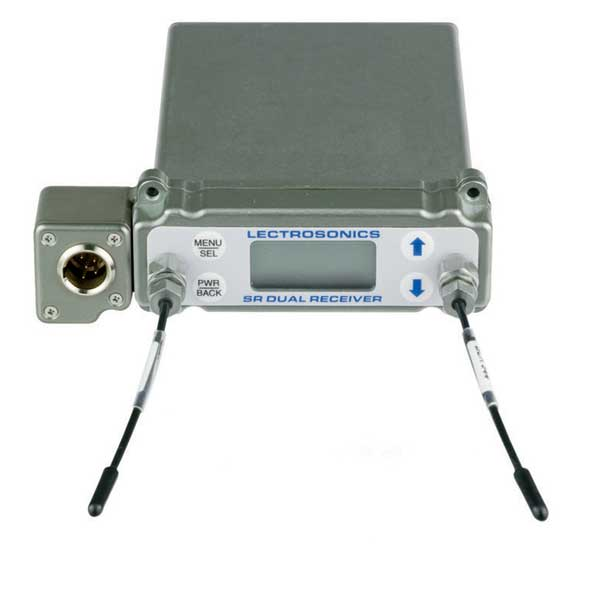 Lectrosonics SRB/5P Dual Channel Slot Mount ENG Receiver