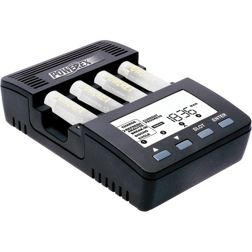 MH-C9000 WizardOne Charger-Analyzer for 4 AA / AAA NiMH / NiCD Batteries
