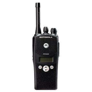 Motorola PR400 Two-Way Radio