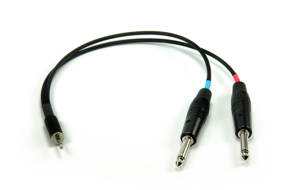 Remote Audio Unbalanced Stereo Breakout Cable (CABM1/4)