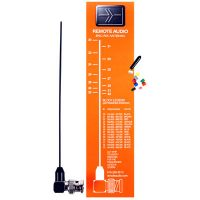 Remote Audio Miracle Whip UHF Antenna Kit w/BNC Right Angle