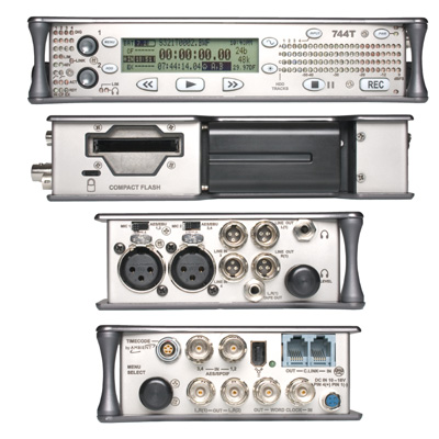 Sound Devices 744T Digital Recorder