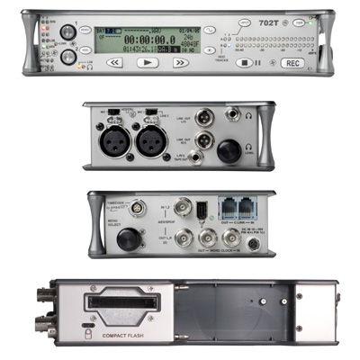 Sound Devices 702T Digital Recorder