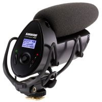 Shure VP83F LensHopper Camera-Mount Condenser Microphone w/ Integrated Flash Recording