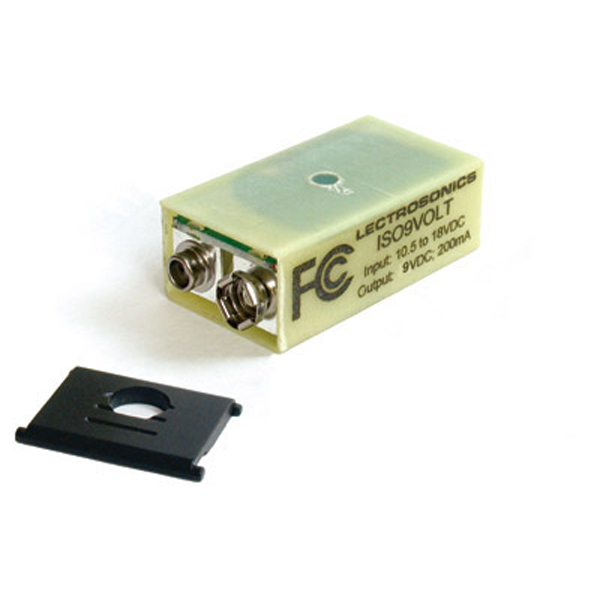 "Lectrosonics ISO9Volt Battery Eliminator type ""H"" (with door for plug-on transmitters)"