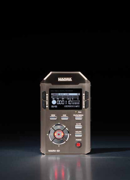 Nagra SD Ultra-miniature Hand-Held Solid State Recorder