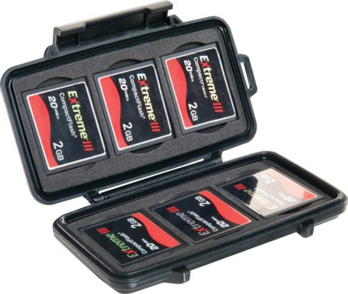 Pelican Case For Compact Flash Memory Cards