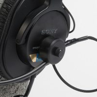 Remote Audio Modified Sony MDR-7506 Headset with Electret Talk-back Microphone (BCSHSEBC)