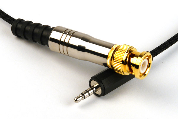 Remote Audio BNC timecode input cable for iDevices (CATCiPBNC)