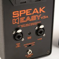 Remote Audio SPEAKEASYv3b - 9 Volt Battery-Powered Speaker (SPKEZV3bWMP)