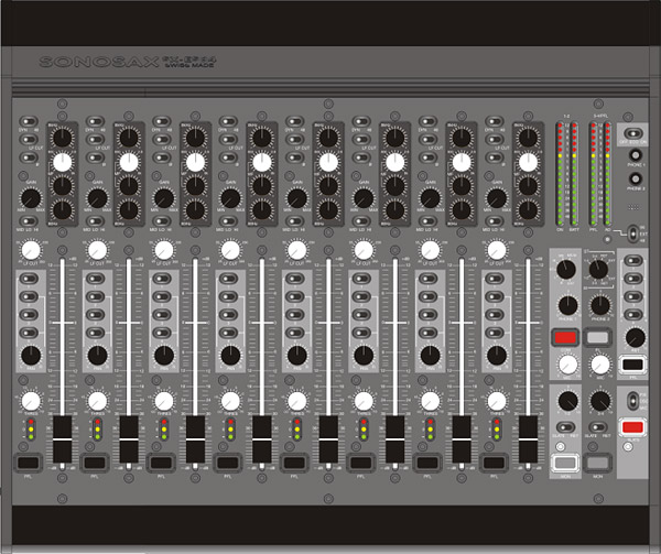 Sonosax SX-ES84 8-Channel Mixer