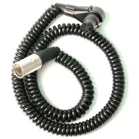 Remote Audio Stereo Coiled Boom Jumper Cable (CAXJCOILST)