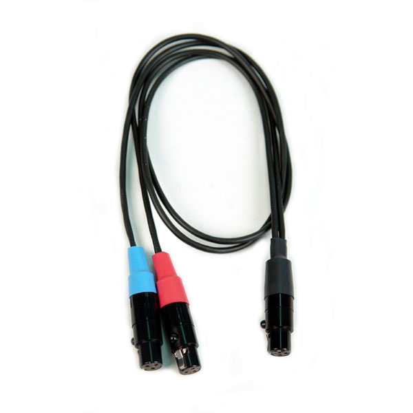 Remote Audio Cable for mixer out to Zaxcom STA100 (CAZSTA1003YTA5)