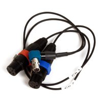 Remote Audio Cable for mixer out to Zaxcom STA100 (CAZSTA100XYTA5R)