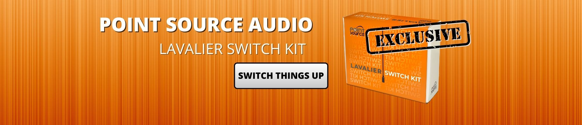 Point Source Audio Banner - Lav Switch Kit